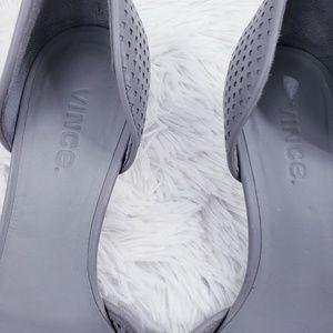 Vince Shoes - Vince laser cut out point toe kitten heels - 8